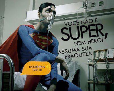 Você não é o Super-Homem! ; nem a Mulher-Maravilha!