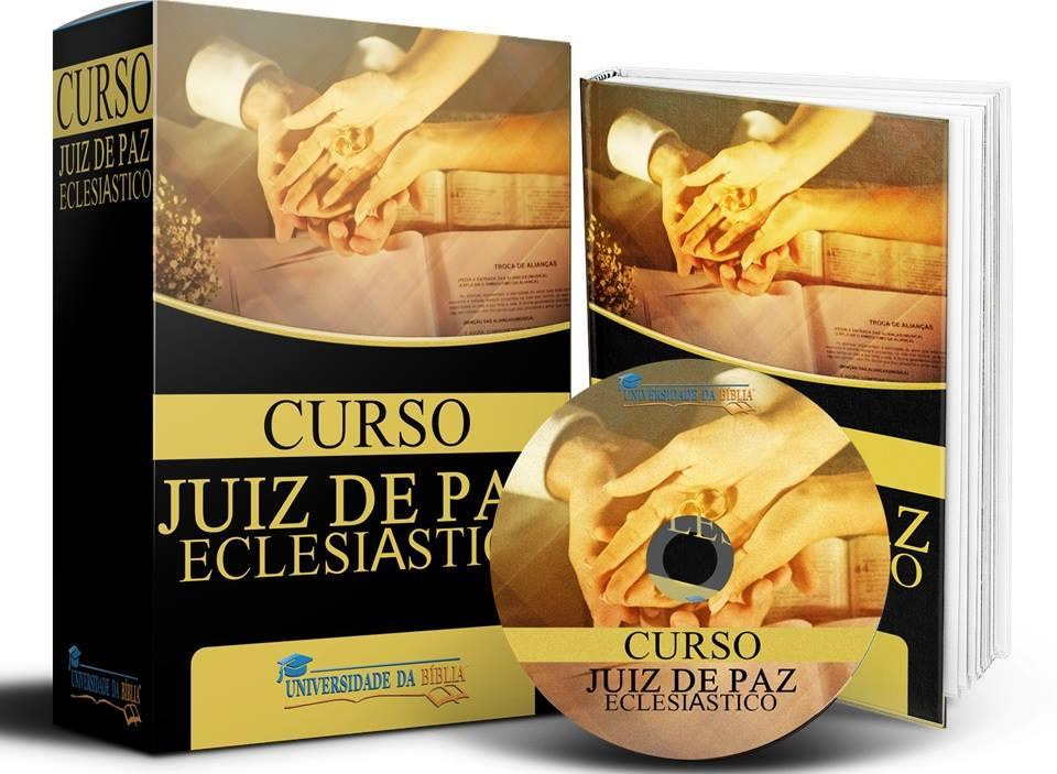 CURSO JUIZ DE PAZ ECLESIÁSTICO Image