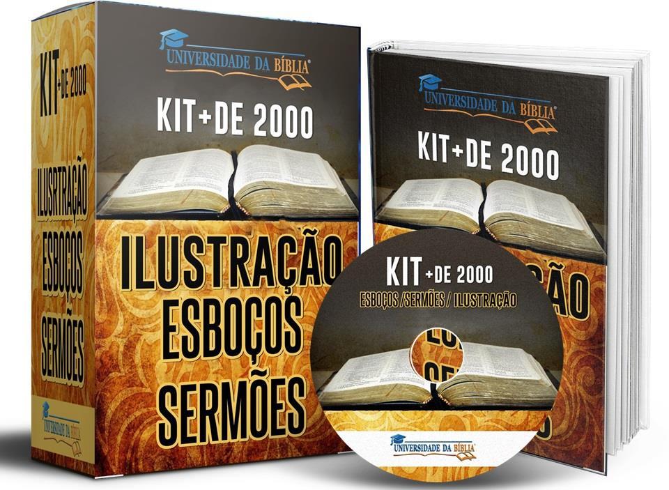 KIT + DE 2000 ILUSTRACÕES, ESBOÇOS E SERMÕES Image