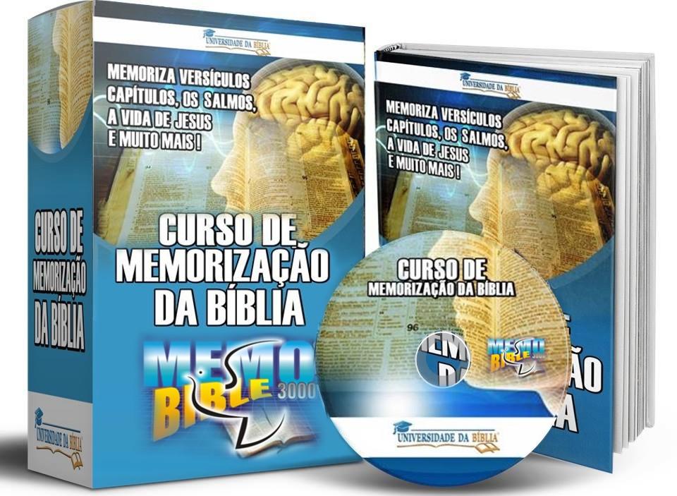CURSO MEMORIZAÇÃO DA BÍBLIA Image