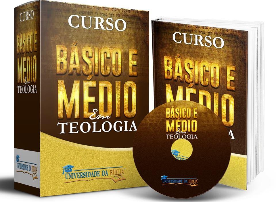 CURSO BÁSICO + MÉDIO EM TEOLOGIA Image