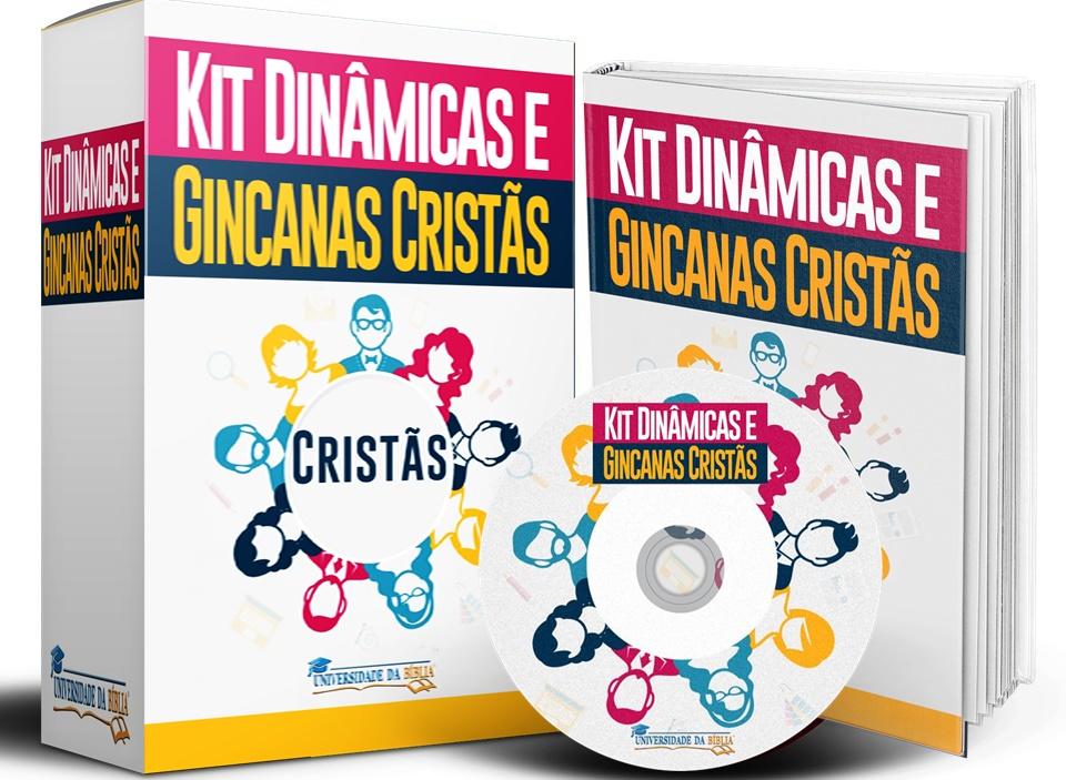 KIT DINÂMICAS E GINCANAS CRISTÃS Image