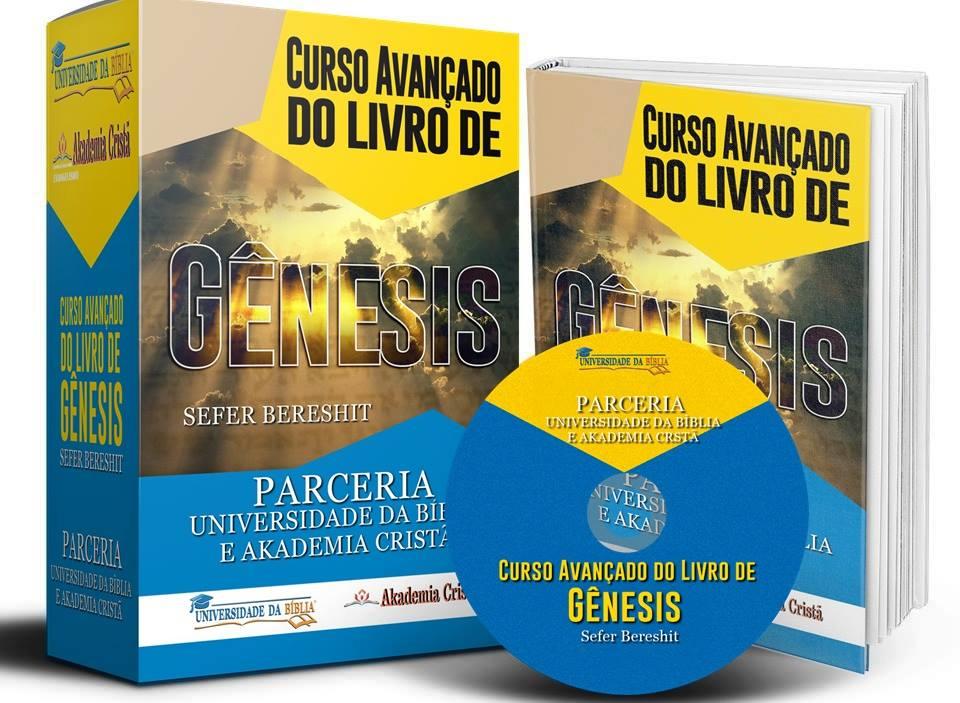 CURSO AVANÇADO DO LIVRO DE GÊNESIS Image