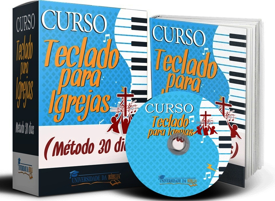 CURSO TECLADO PARA IGREJAS (MÉTODO 30 DIAS) Image