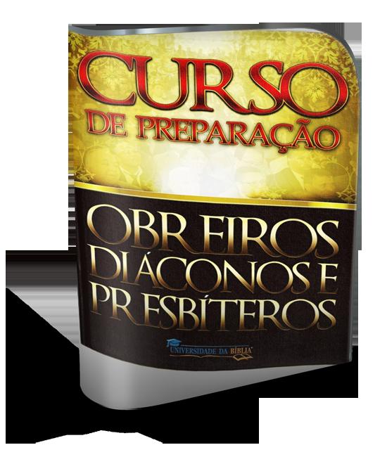 CURSO PREPARAÇÃO DE OBREIROS, DIÁCONOS E PRESBÍTEROS Image