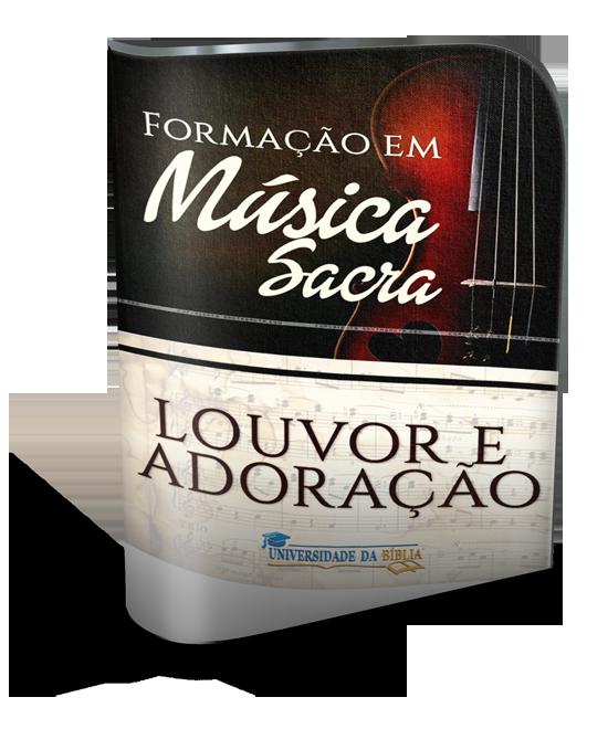 CURSO FORMAÇÃO EM MÚSICA SACRA (Louvor e Adoração) Image